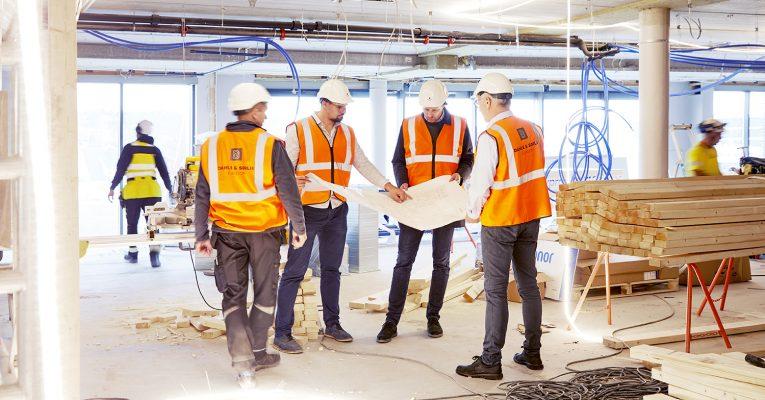 Ny trend: Å bygge nye lokaler med gjenbruksmaterialer